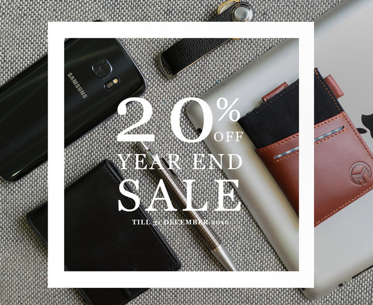Year End Sales 20% OFF SITEWIDE!