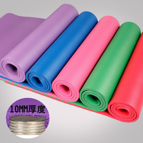 10MM NBR Yoga Mat For Beginners