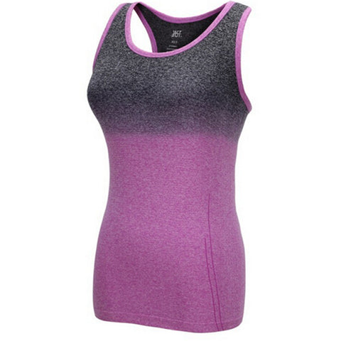 Gradient Color Yoga Tank Top