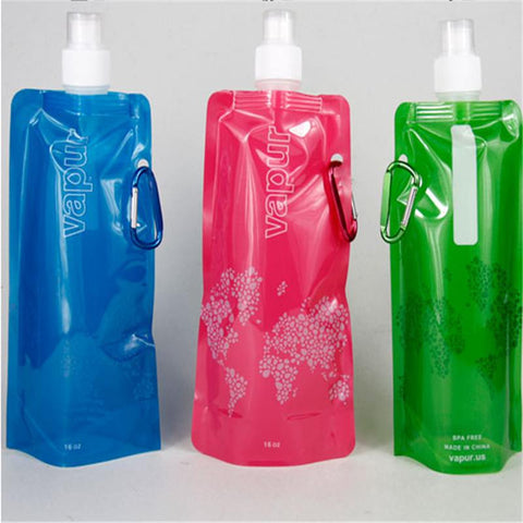 480ml  folding Water Bottle