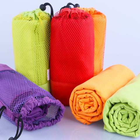 Microfiber Towel For Yoga & Pilates Include Mesh Bag