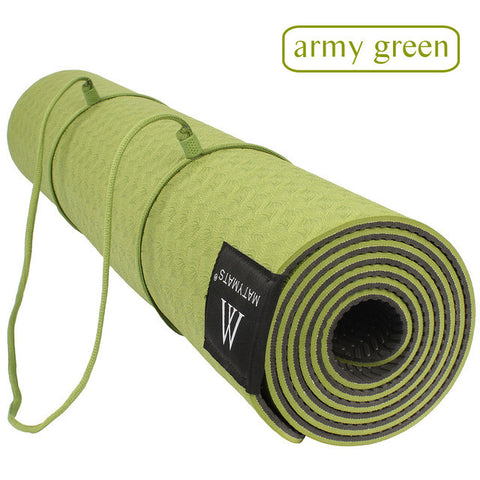 Matmats TPE Yoga Mat Double Layers