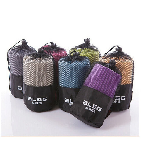 Microfiber Towel  With Bag