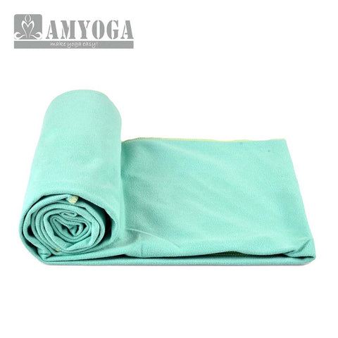 Microfiber Double Layer Towel - Green