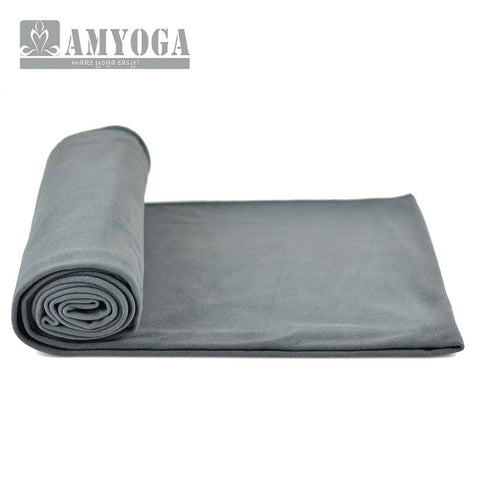 Microfiber Double Layer Towel- Gray