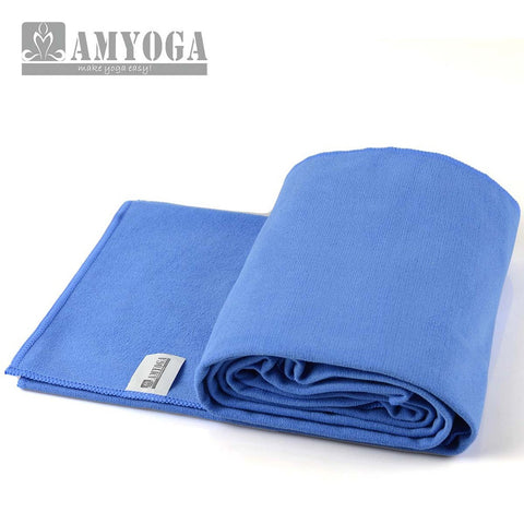 Microfiber Double Layer Towel- Blue