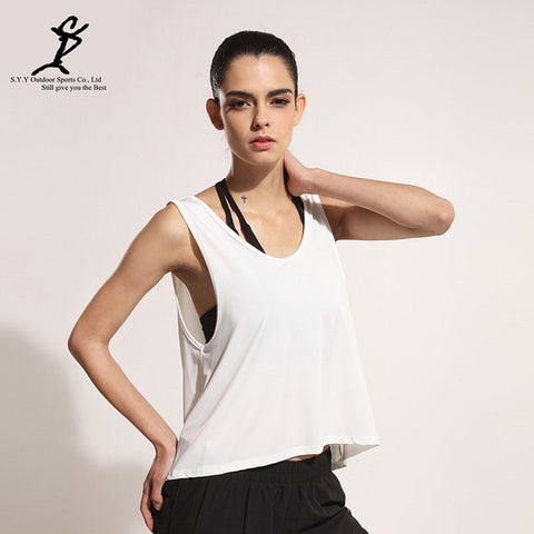 Tank Backless Sports T Shirt
