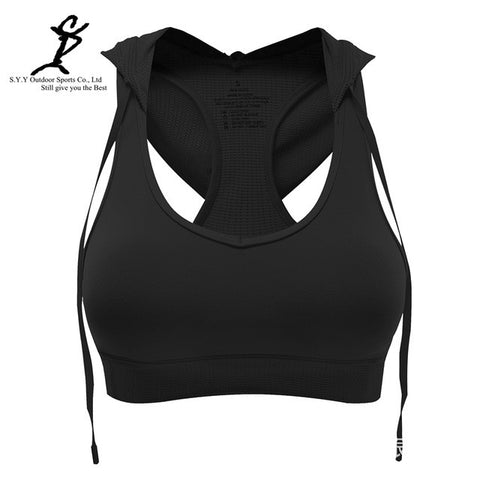 Hooded Padded Push-up Bra