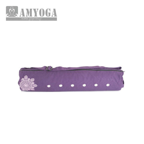 Canvas And Cotton Mat Bag - Purple