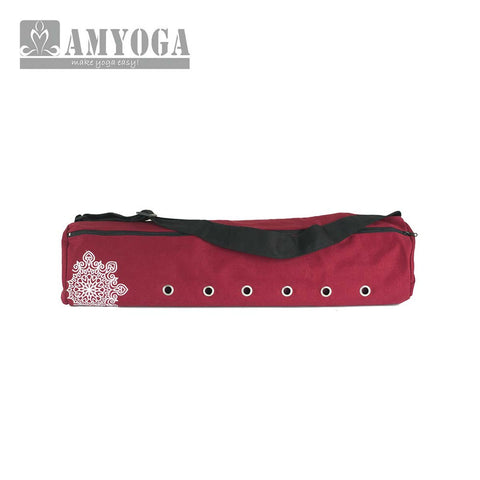 Canvas And Cotton Mat Bag - Red