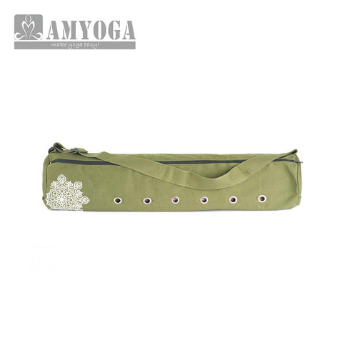 Canvas And Cotton Mat Bag - Army Green