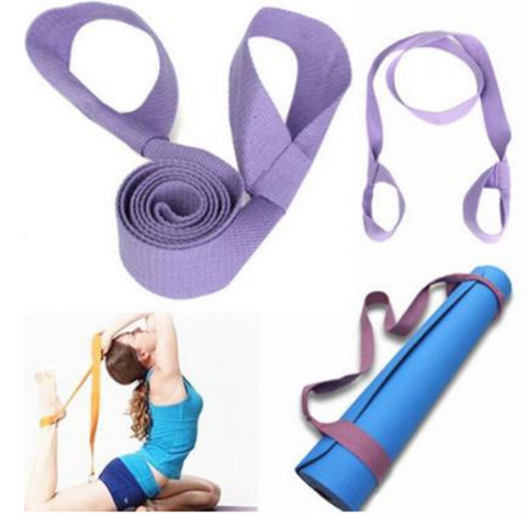 Mat & Yoga Strap in One