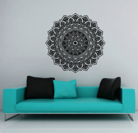 Moroccan Pattern Yoga Decal