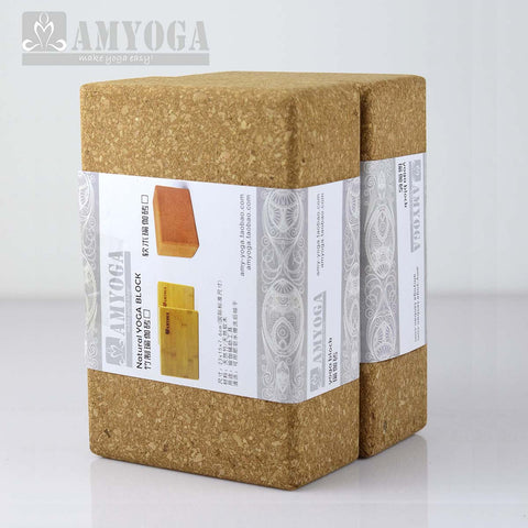 Organic Cork Yoga Block
