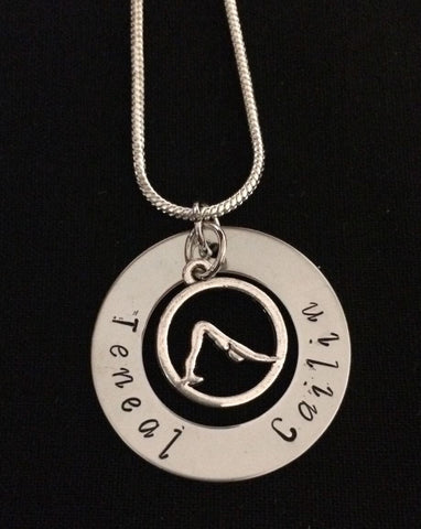Personalised Yoga Necklace