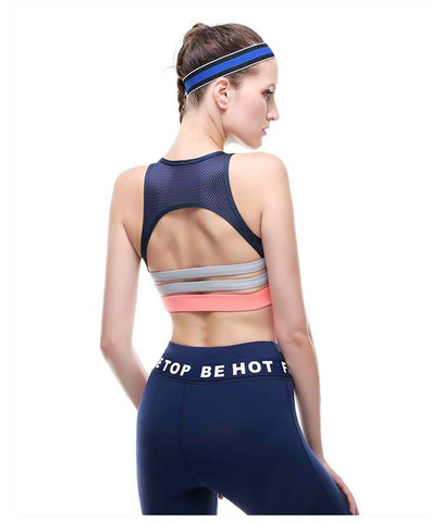 Shockproof Non Wire Yoga Tank Top