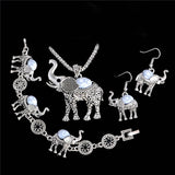 Vintage Elephant Jewelry Set