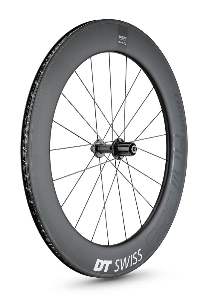 DT SWISS ARC 1100 DICUT® 80 NON DISC CARBON CLINCHER WHEEL (TUBELESS READY)