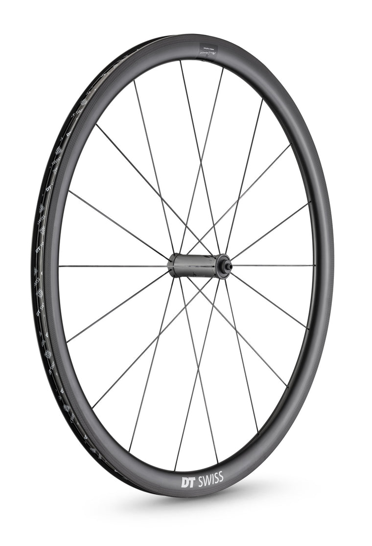 DT SWISS PRC 1100 DICUT® 35 NON DISC CARBON CLINCHER WHEEL (TUBELESS READY)