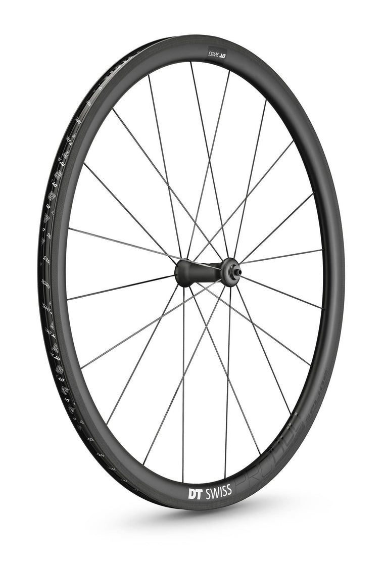DT SWISS PRC 1400 SPLINE® 35 NON DISC CARBON CLINCHER WHEEL (TUBELESS READY)