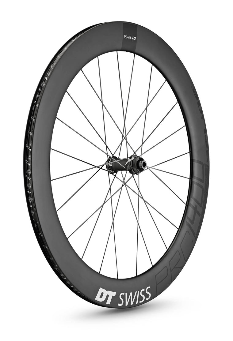 DT SWISS PRC 1400 SPLINE® 65 DISC CARBON CLINCHER WHEEL (TUBELESS READY)