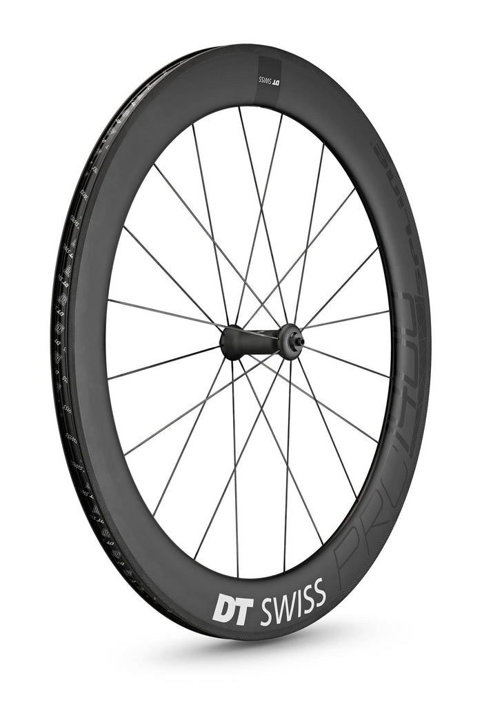 DT SWISS PRC 1400 SPLINE® 65 NON DISC CARBON CLINCHER WHEEL (TUBELESS READY)