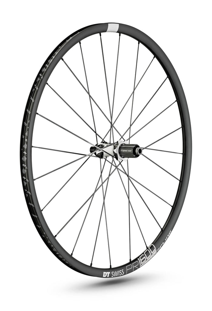 DT SWISS PR 1600 SPLINE® 23 DISC CLINCHER WHEEL (TUBELESS READY)