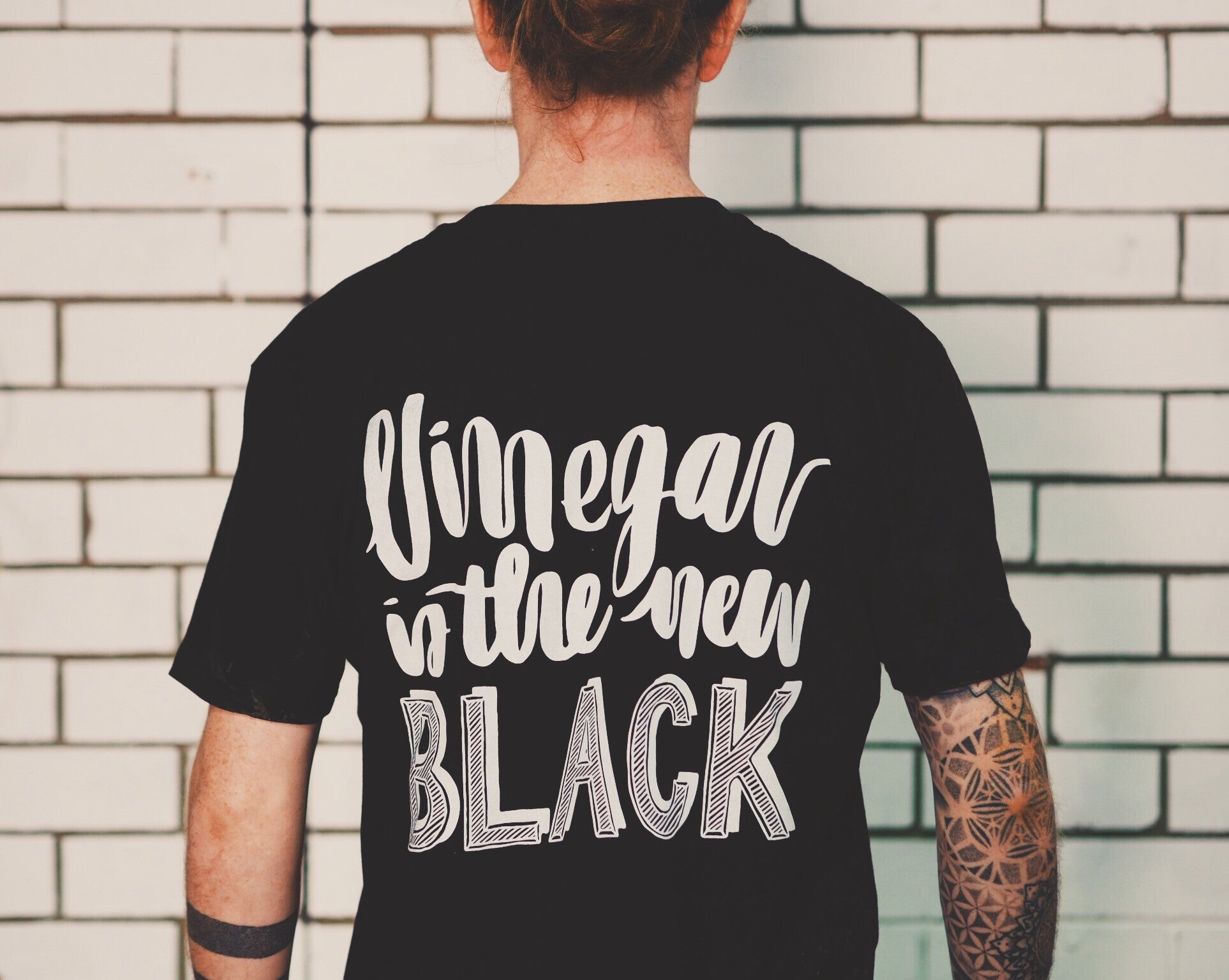 Vinegar is the new black