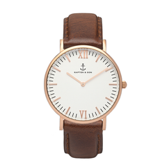KAPTEN & SON CAMPINA WHITE BROWN 36MM