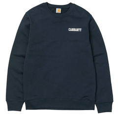 CARHARTT COLLEGE SCRIPT SWEATER