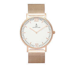 KAPTEN & SON CAMPUS WHITE MESH 40MM