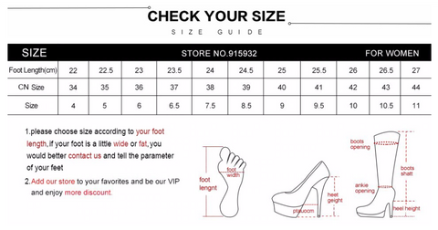 Butterfly Bow Knot Pumps Shoes - Size Chart Suggestions -Fashion NetClub