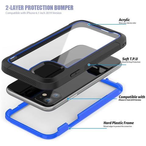 Kids Shockproof Armor Phone Cover Layer - Fashion NetClub
