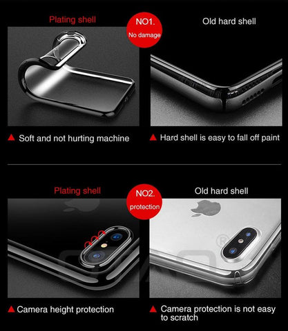 Ultra-Thin Transparent Phone Case -product-image-fashion netclub