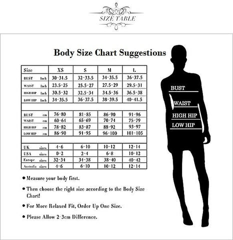 V-Golden Mini Club Dress - Fashion NetClub - size chart suggestions
