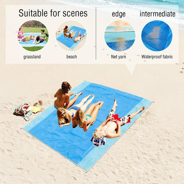 Portable Magic Mat Beach Towel - Fashion Netclub