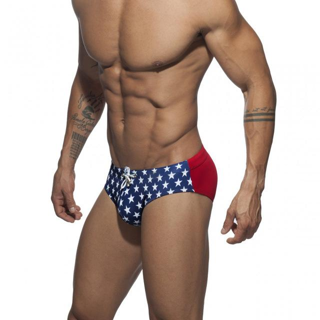Men Waterproof Swimwear-Briefs - Fashion NetClub