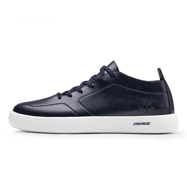 Microfiber Leather Sneakers - Fashion Netclub