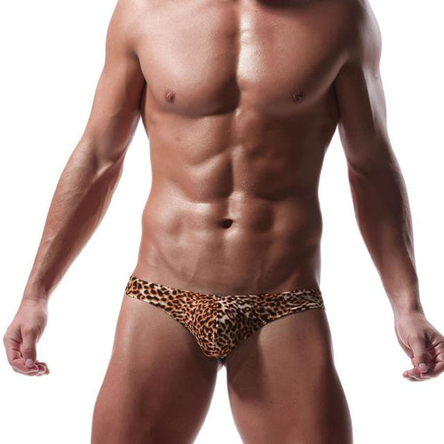 Leopard Print Men Underwear - Fashion Netclub