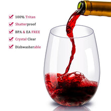 Load image into Gallery viewer, Unbreakable Tumbler Wine Glass - Fashion NetClub
