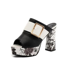 Load image into Gallery viewer, Elegant Buckle High Heel Sandals - Fashion Netclub