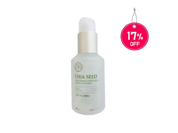 THE FACESHOP Chia Seed Moisture Recharge Serum 50ml