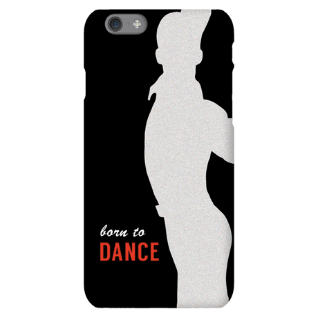 Born To Dance Silver Phone Case