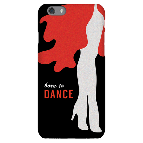 Born To Dance Red Phone Case