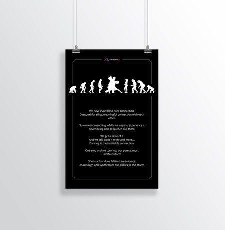 The Evolution Of Man Poster