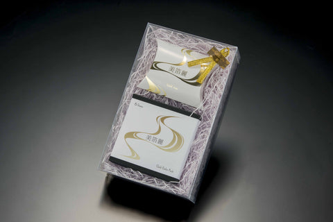 Special Gift Box - Gold Aesthetic Leaf (6 Sheets) & Soap Set - - JAPANESE GIFTS