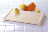 Kitchen Cutting Board Japanese HINOKI Cypress Wooden Both Sides Use Pier Stand - JAPANESE GIFTS