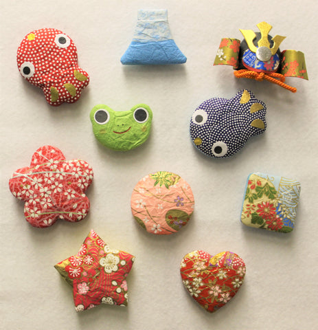 """MINOWASHI"" Magnets 10 pcs. set - JAPANESE GIFTS"