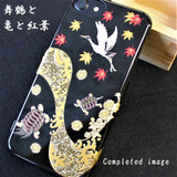 [Crane, Turtles, Maple & Wave ] iPhone Case DIY kit Japanese Traditional Pattern - JAPANESE GIFTS