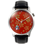 Maki-e Watch Sakura / Fine Wind Clear Morning (Free Shipping) - JAPANESE GIFTS